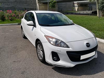 Прокат Mazda 3 1.6 в Сочи Адлере