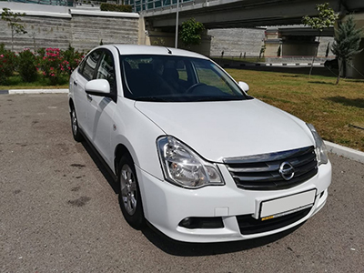 Прокат Nissan Almera 1.6 в Сочи Адлере