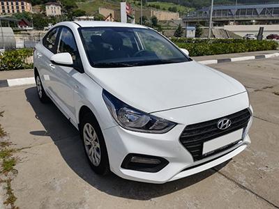 Прокат Hyundai Solaris 1.6 new в Сочи Адлере
