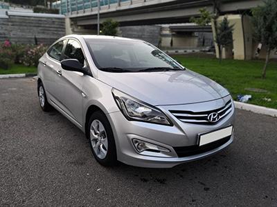 Прокат Hyundai Solaris 1.6 в Сочи Адлере